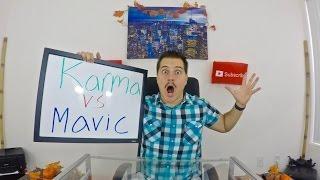 Gopro Karma vs DJI Mavic!