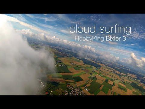 Cloud Surfing Bixler 3 | GoPro Hero 3 FPV | HobbyKing Bix3 RC Plane
