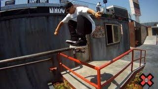 GoPro HD:  Ryan Sheckler Skateboard Street Flashback - X Games 17
