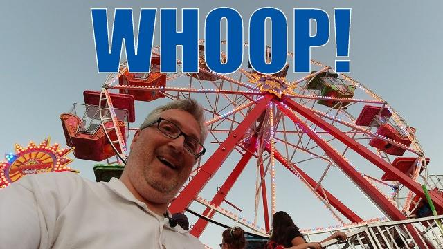 Whooping it up at the County Fair - KEN HERON