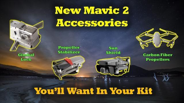 4 New Accessories For Your Mavic 2 Quad