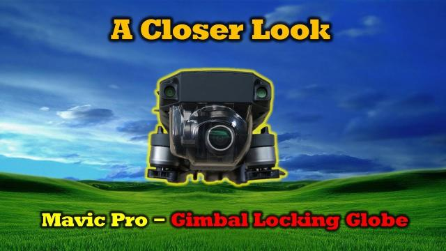 Lock and Protect Your Mavic Pro Gimbal in One Step