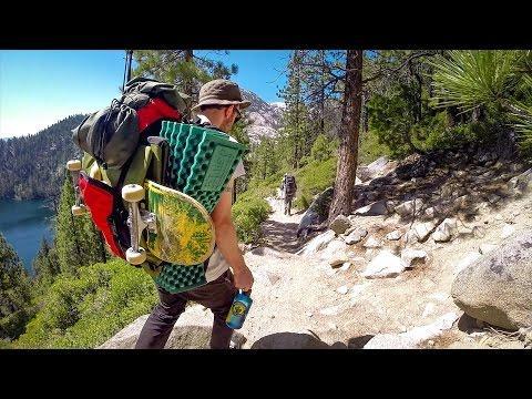 GoPro: Skating The High Sierras