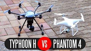 Yuneec Typhoon H vs DJI Phantom 4 - Full Comparison