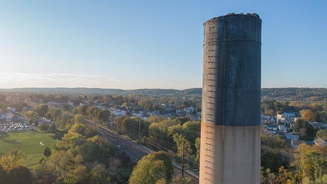 Abandoned Paper Mill Downingtown, PA Drone Footage