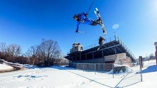 GoPro: Back to School Urban Skiing with Tom Wallisch