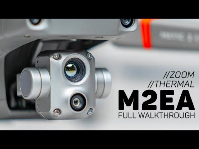 DJI Mavic 2 Enterprise Advanced Camera Overview (Thermal & Zoom)