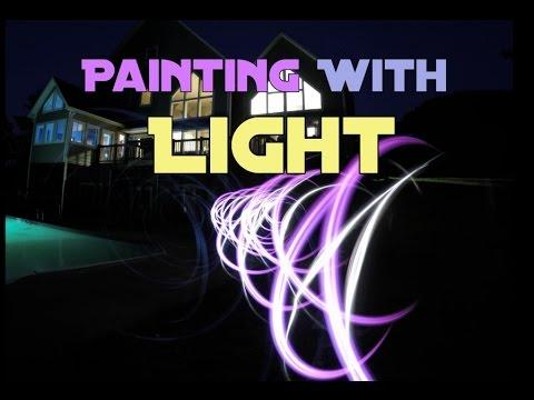 Painting With Light - Back Yard Fun With GoPro Hero 4