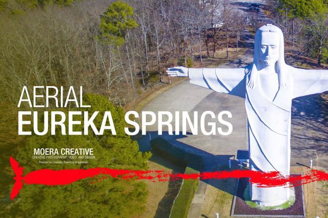 DJI Inspire 1 - Beautiful Aerials of Eureka Springs, Arkansas