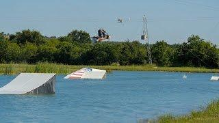 Landed my first double flip on wakeboard!