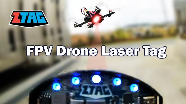 Laser Tag for FPV Drones? ZTAG Delivers