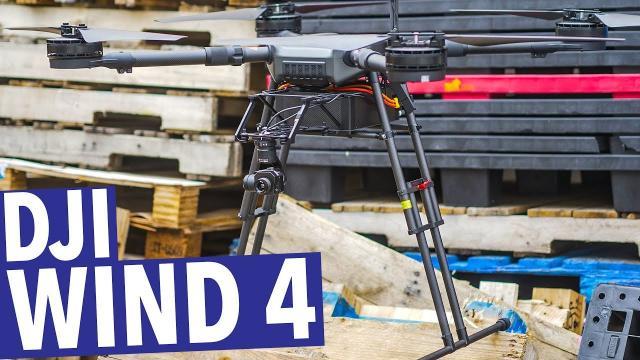 DJI WIND SERIES! WIND 4! 22 POUND PAYLOAD DRONE!