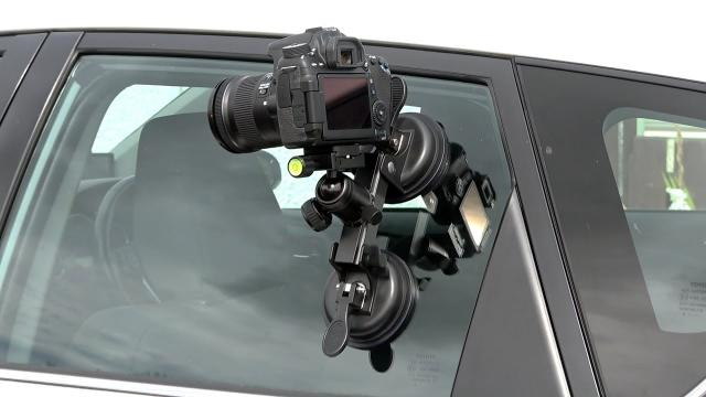 Heavy Duty DSLR Camera Suction Cup Car Mount