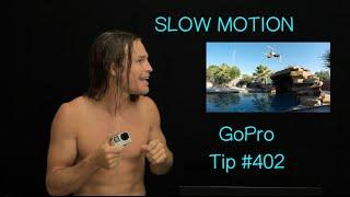How to edit video for smooth slow motion - GoPro Tip #402