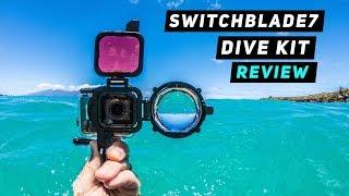 SwitchBlade7 Dive Kit for GoPro Hero5, Hero6 + Hero7 | MicBergsma