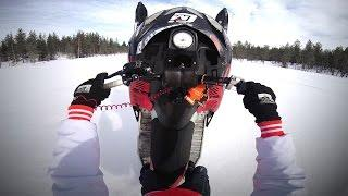 GoPro: Snowmobiling Across A River