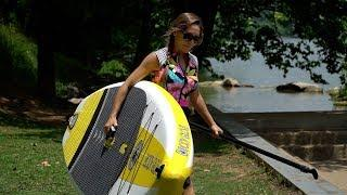 BodyGlove Performer 11 iSUP Inflatable Paddle Board REVIEW