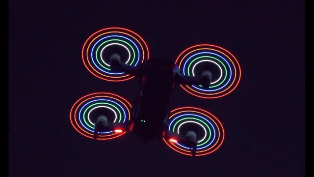 DJI Mavic Air LED Propeller Night Flying Blades