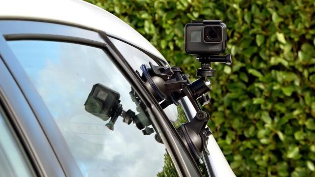 Triple Cup Camera Suction Mount from Fantaseal