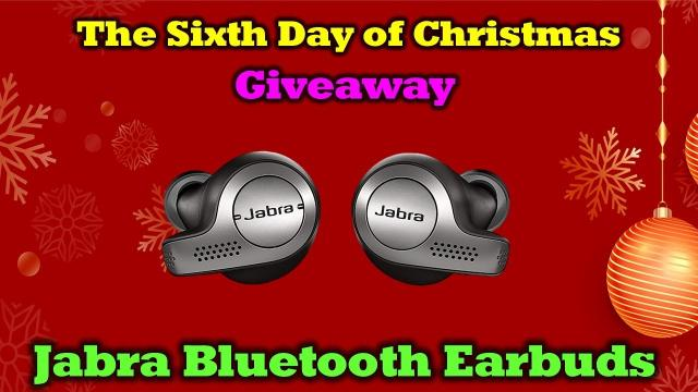 Day 6 Giveaway - Drone Valley Christmas - Jabra 65T Earbuds!