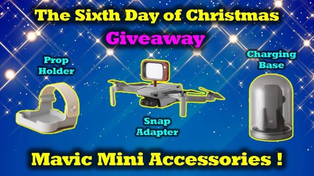 Free Mavic Mini Gear - 12 Days of Drone Valley Christmas Giveaways 2019