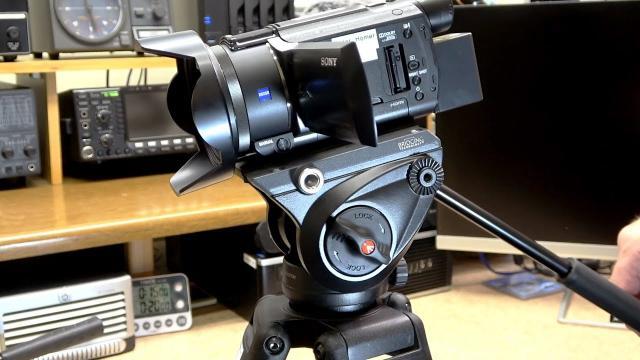 Manfrotto MVH500A 60mm Half Ball Lightweight Fluid Video head