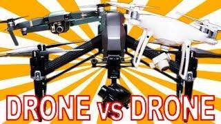 DRONE vs DRONE: DJI Mavic Pro vs Phantom 4 Pro vs Inspire 2 Comparison