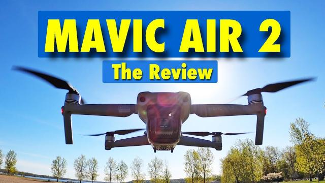 The DJI Mavic Air 2 is the BEST DRONE in its class!  Full Review.