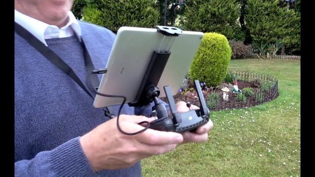 DJI Mavic Range and DJI Spark Tablet Mount Lite Holder