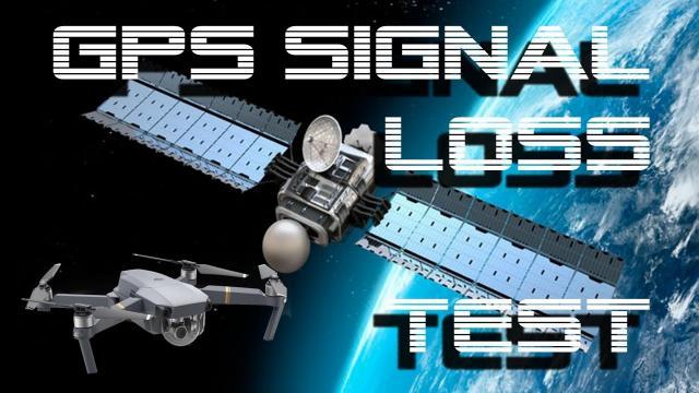 DJI Mavic Pro - GPS Signal Loss Test