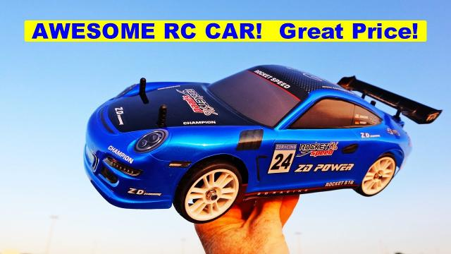 ZD Racing Rocket RC Metal Frame Porsche - Good RC Car at a Great Price!