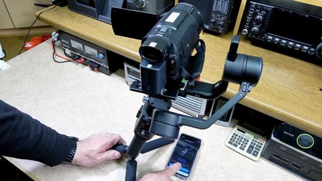 DJI Ronin SC & Sony AX53 Camcorder Fitment