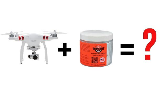 HOW TO Repair a Phantom 3 drone with Tannerite