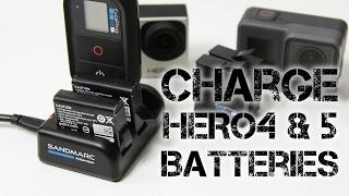 Sandmarc Action Gear Charger | Charge HERO4 and HERO5 Batteries