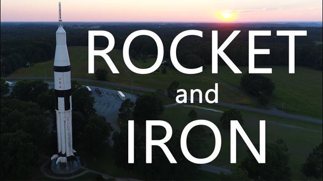 Ken Heron - Saturn 1B Rocket and Sloss Furnace [4K]