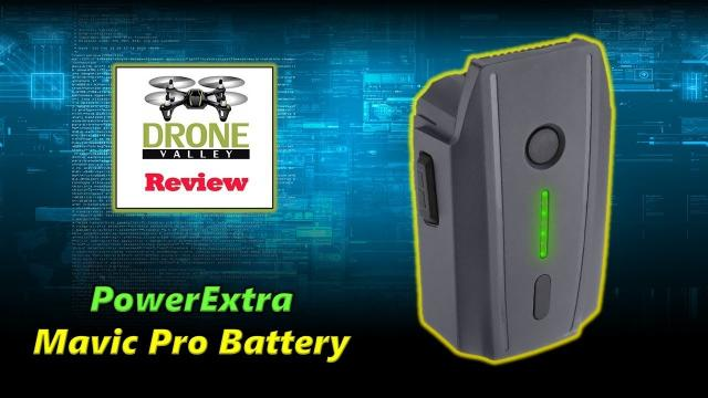 PowerExtra Mavic Pro Battery Review