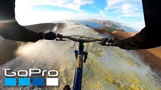 GoPro: Sulfuric Volcano MTB Ride with Kilian Bron