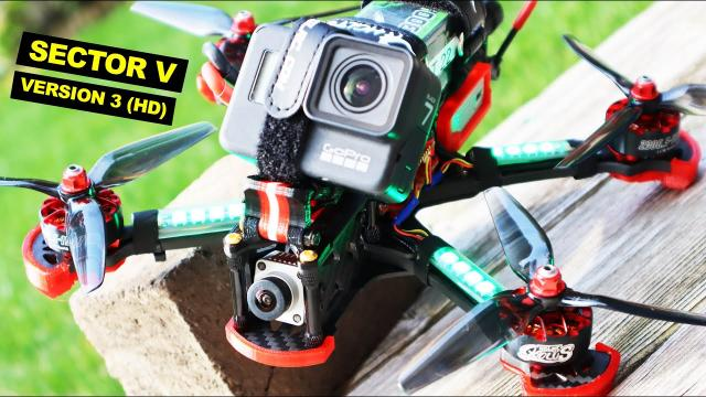 Amazing FPV Drone! HGLRC Sector 5 version 3 High Definition - REVIEW