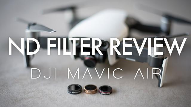 ND Filter Review - Mavic Air
