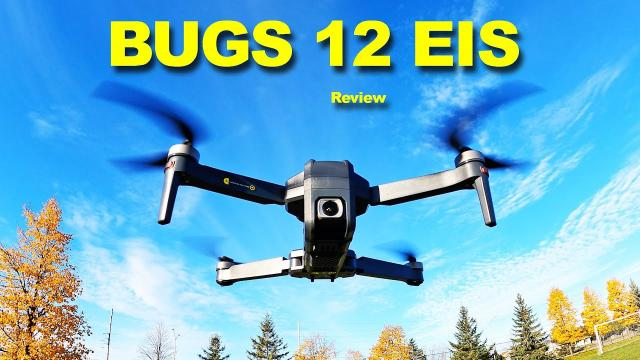 The MJXRC BUGS 12 EIS is a very nice Low Cost Drone - Review
