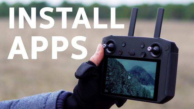 Quick Tip: How to Install Apps to DJI Smart Controller