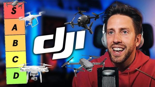 DJI DRONE TIER LIST | WHERE'S YOUR DRONE RANKED?