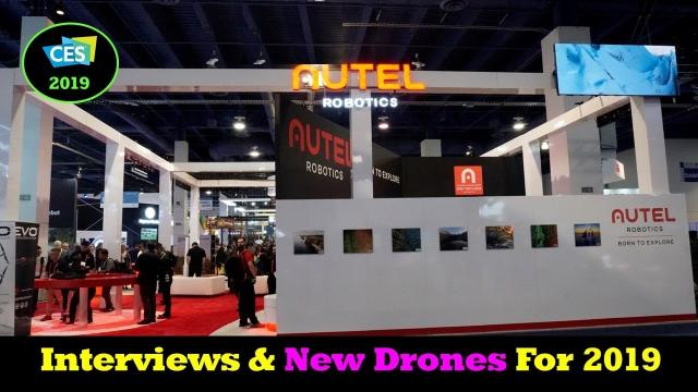 CES 2019 - Autel Interviews and New Product Discussions