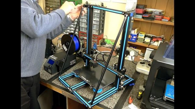 Creality CR-10 & CR-10S Supporting Rod Set