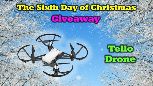 Free Tello Drone - Day 6 of Our 12 Days of Drone Valley Christmas