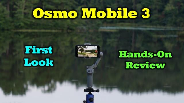 Osmo Mobile 3 - First Look - Hands On Review