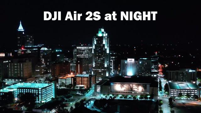 DJI Air 2S LIVE at NIGHT