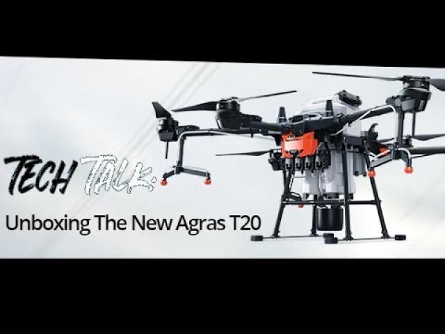 Tech Talk: The New DJI Agras T20