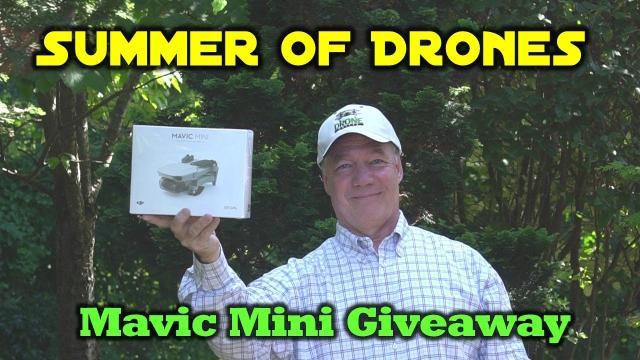 Summer of Drones   Mavic Mini Giveaway