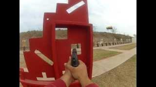 Handgun And Shotgun Shooting With GoPro 2 Using Headband